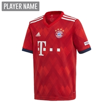 Adidas Youth Bayern Munich Home Jersey '18-'19 (FCB True Red/Strong Red/White)