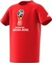Adidas Youth FIFA World Cup Russia 2018 T-Shirt (Red)