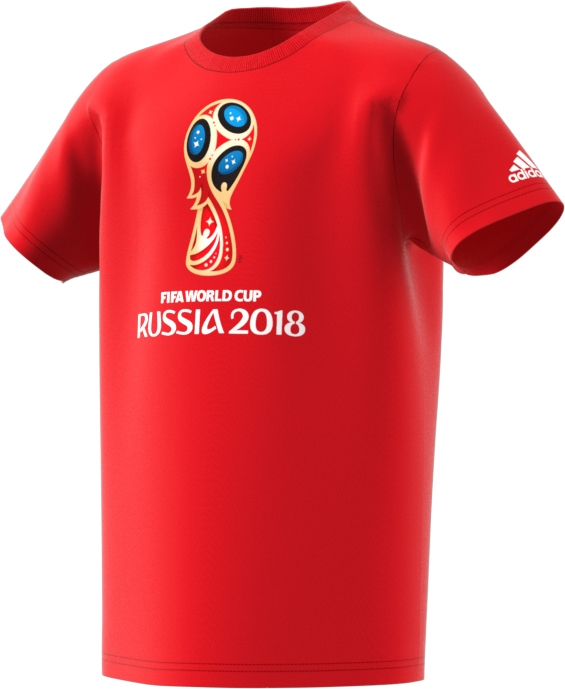 21f3a950224 Adidas Youth FIFA World Cup Russia 2018 T-Shirt (Red)