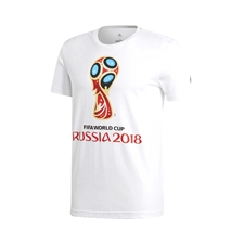 Adidas Youth FIFA World Cup Russia 2018 T-Shirt (White)