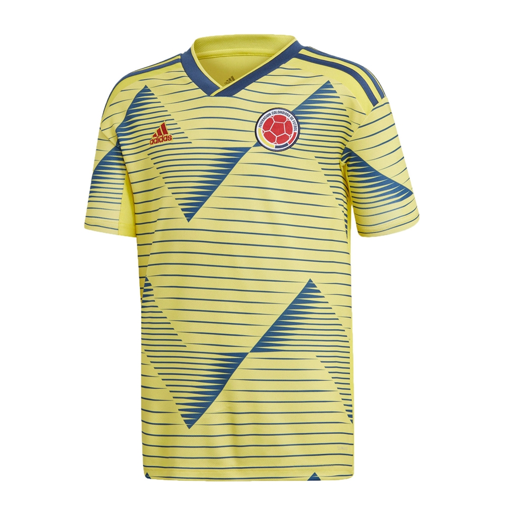 82817dba3fd Adidas Youth Colombia 'JAMES 10' Home Jersey 2019 (Light Yellow ...