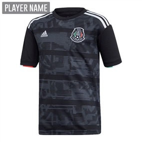 Adidas Youth Mexico Home Jersey 2019 (Black/White)