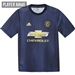 Adidas Youth Manchester United Third Jersey '18-'19 (Collegiate Navy/Night Navy/Matte Gold)