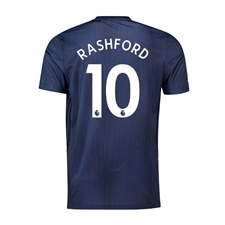 Adidas Youth Manchester 'RASHFORD 10' United Third Jersey '18-'19 (Collegiate Navy/Night Navy/Matte Gold)