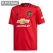 Adidas Youth Manchester United Home Jersey '19-'20 (Real Red)