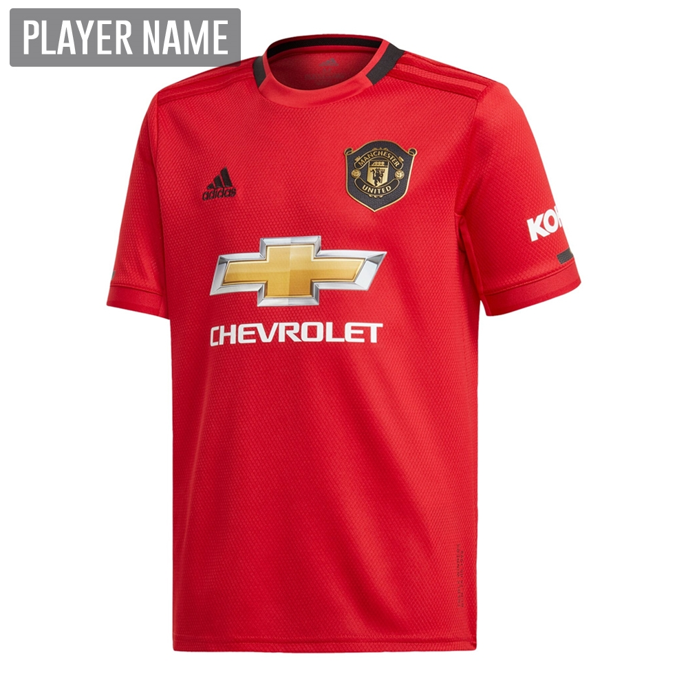 a5d341750a2 Adidas Youth Manchester United Home Jersey '19-'20 (Real Red ...