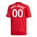 Adidas Youth Manchester United 'CUSTOM' Home Jersey '19-'20 (Real Red)