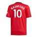 Adidas Youth Manchester United 'RASHFORD 10' Home Jersey '19-'20 (Real Red)