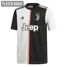Adidas Youth Juventus Home Jersey '19-'20 (Black/White)