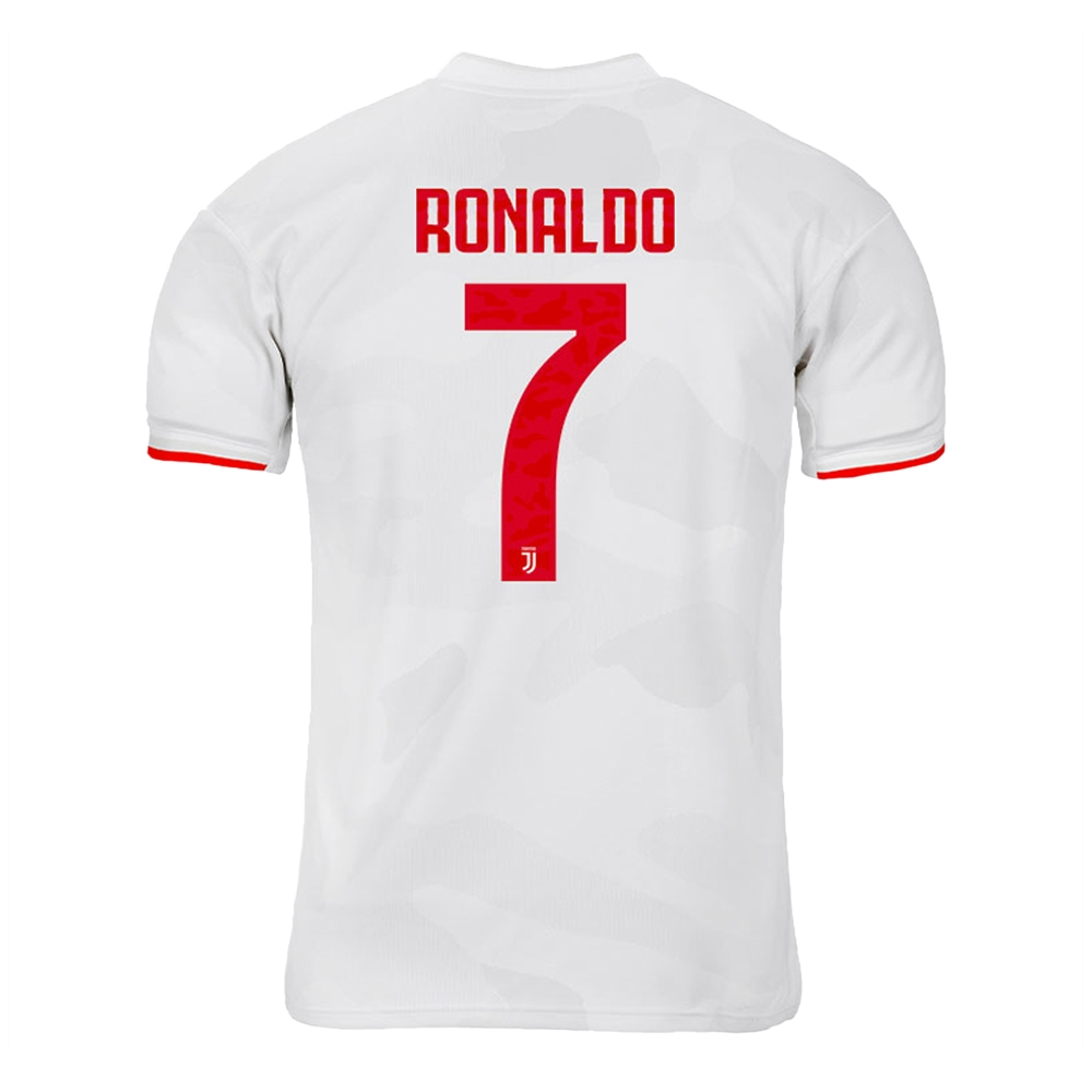 innovative design 441c8 0224b Adidas Youth Juventus 'RONALDO 7' Away Jersey '19-'20 (Core White/Raw White)
