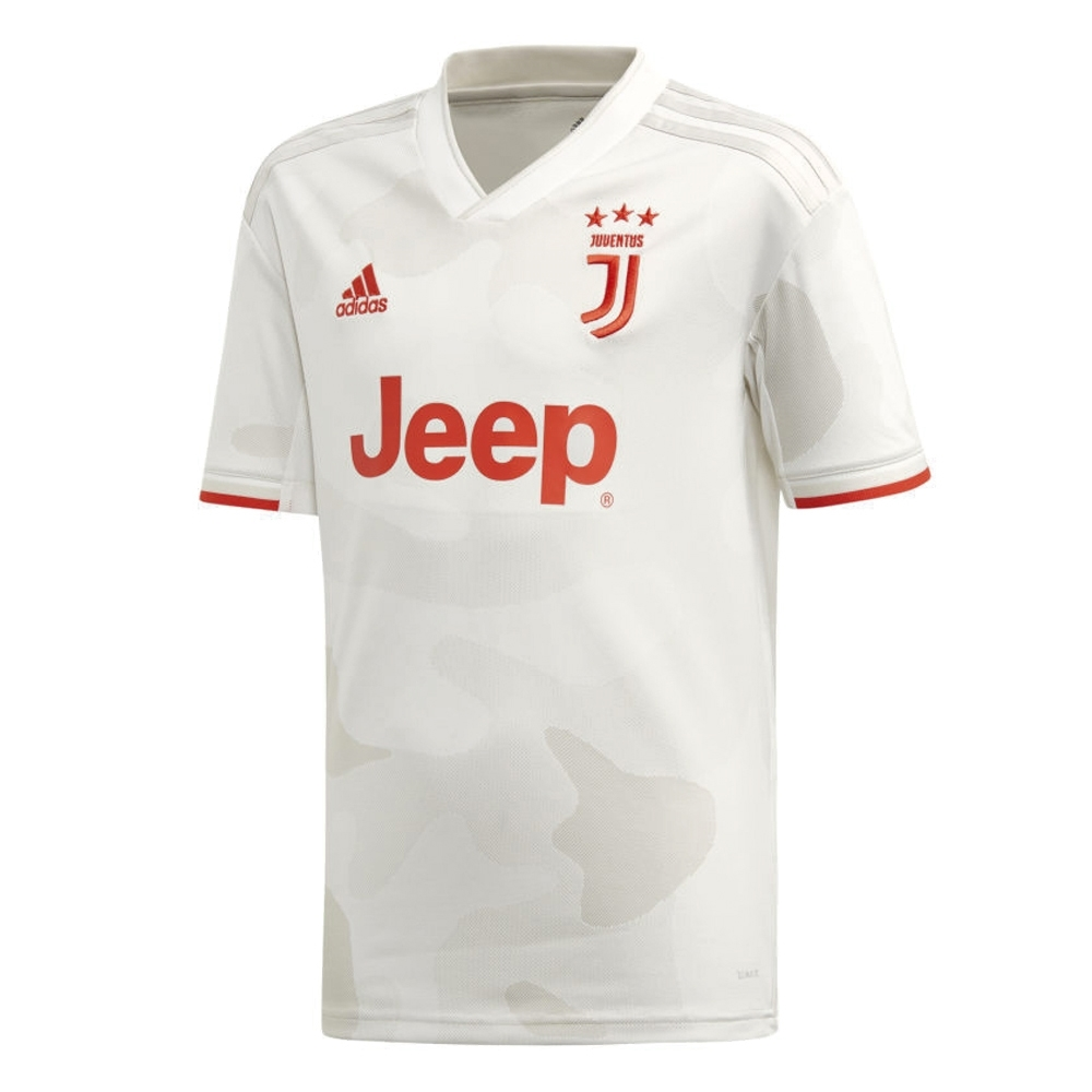 innovative design b4ad3 358ea Adidas Youth Juventus 'RONALDO 7' Away Jersey '19-'20 (Core White/Raw White)