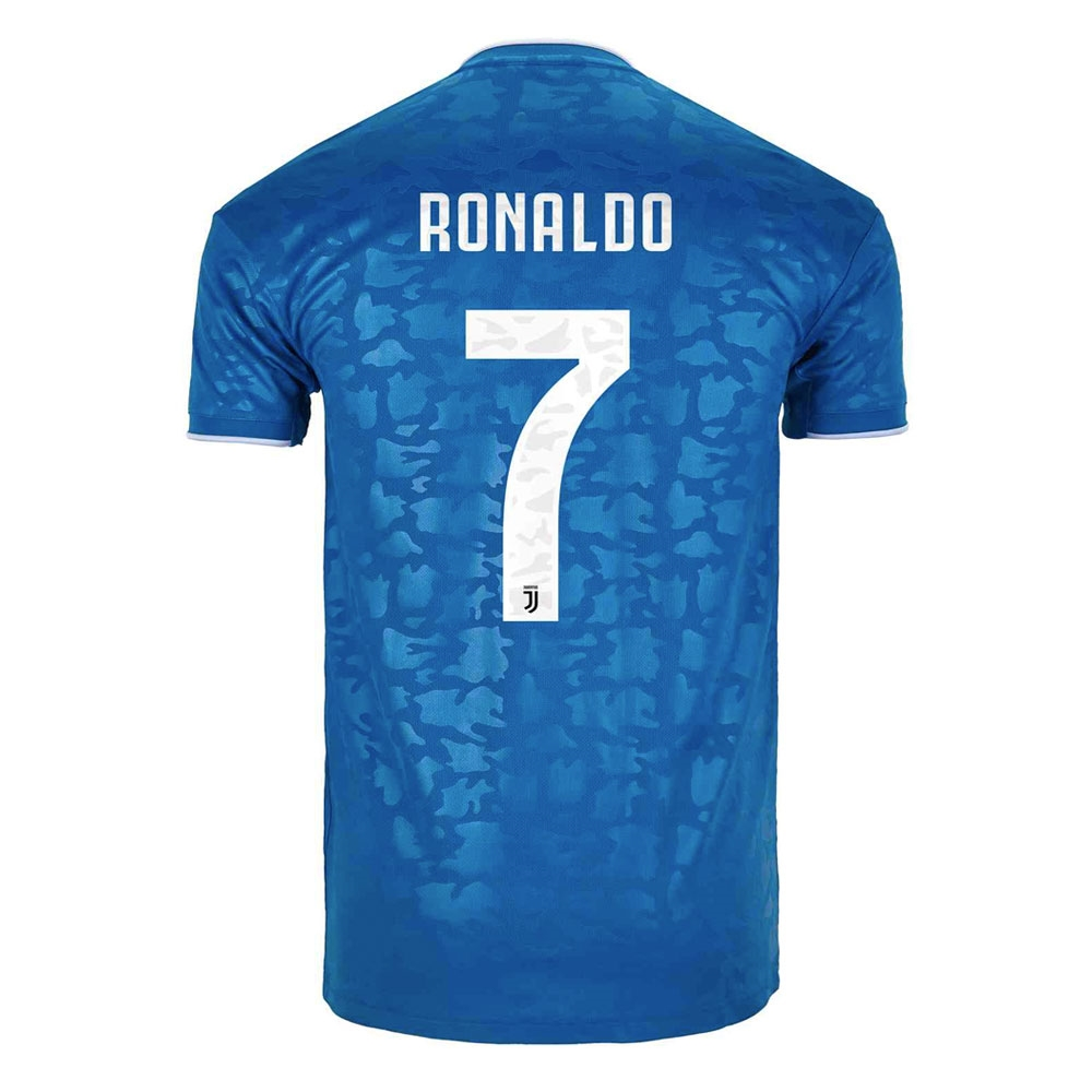 the best attitude be501 4afba Adidas Youth Juventus 'RONALDO 7' Third Jersey '19-'20 (Unity Blue/Aero  Blue)