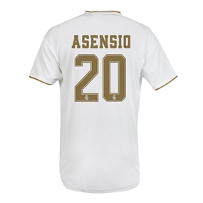 Adidas Youth Real Madrid 'ASENSIO 20' Home Jersey '19-'20 (White)