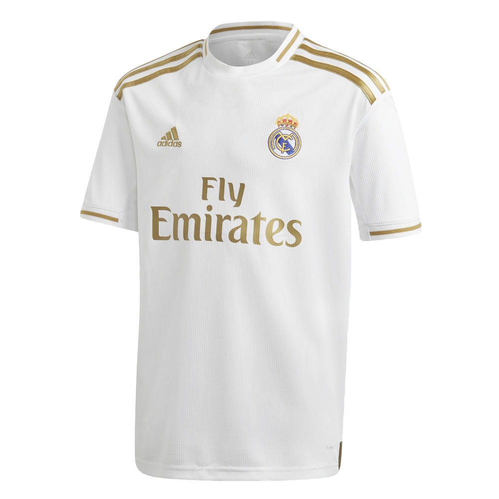 new product 65bbe 230c9 Adidas Youth Real Madrid 'ASENSIO 20' Home Jersey '19-'20 (White)