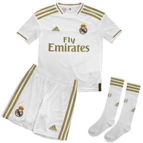 Adidas Real Madrid Home Mini Kit '19-'20 (White)