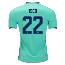 Adidas Youth Real Madrid 'ISCO 22' Third Jersey '19-'20 (Hi-Res Green)
