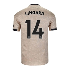Adidas Youth Manchester United 'LINGARD 14' Away Jersey '19-'20 (Linen)