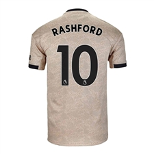 Adidas Youth Manchester United 'RASHFORD 10' Away Jersey '19-'20 (Linen)