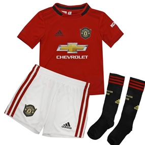 Adidas Manchester United Home Mini Kit '19-'20 (Real Red)