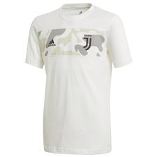 Adidas Youth Juventus Graphic T-Shirt (Core White)