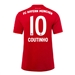 Adidas Youth Bayern Munich 'COUTINHO 10' Home Jersey '19-'20 (FCB True Red)