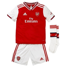 Adidas Arsenal Home Mini Kit '19-'20 (Scarlet)