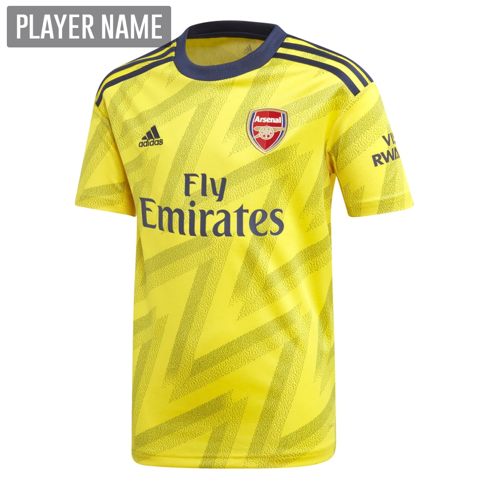online store cc0b4 21ed1 Adidas Youth Arsenal Away Jersey '19-'20 (Equipment Yellow)