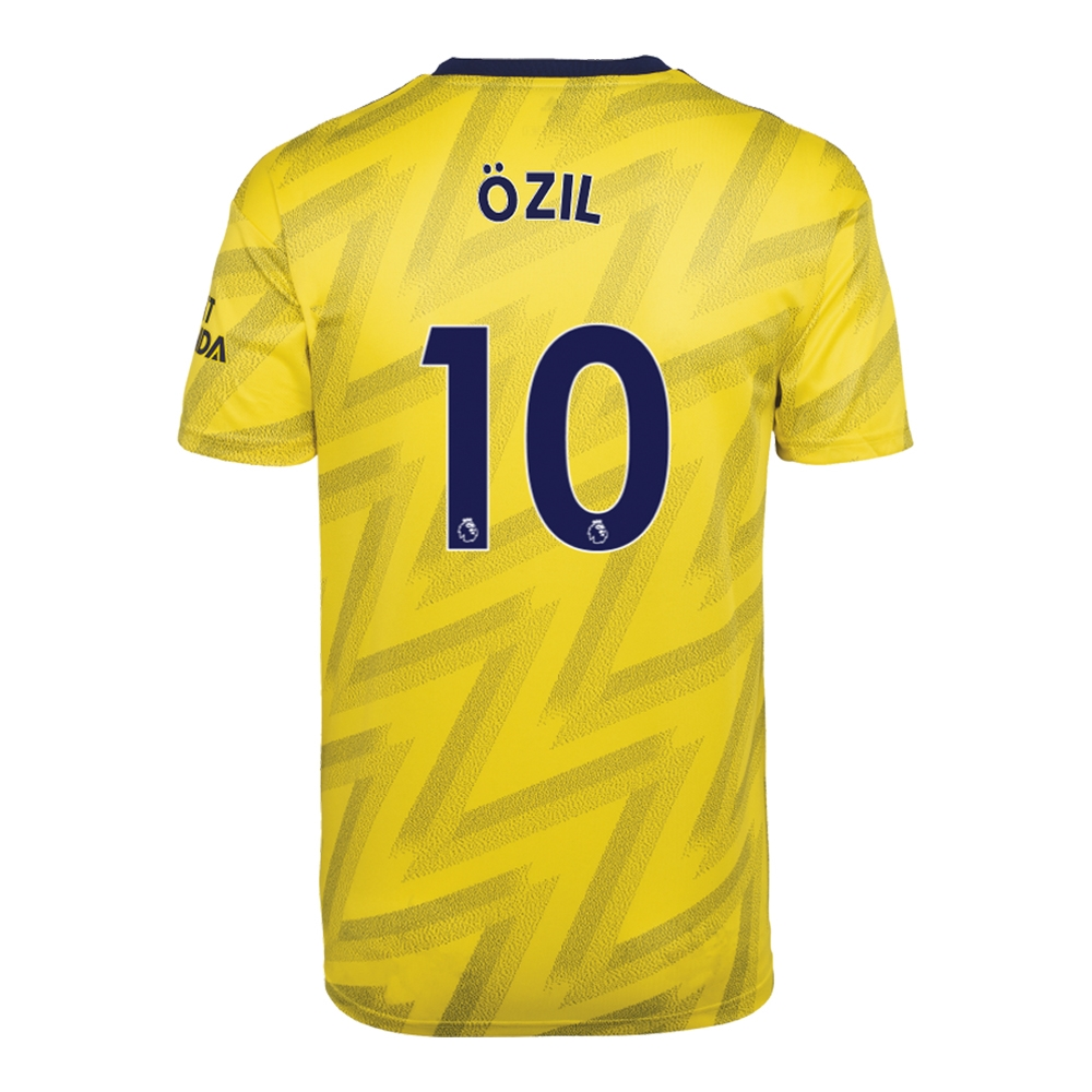 factory authentic f715f 68bd2 Adidas Youth Arsenal 'OZIL 10' Away Jersey '19-'20 (Equipment Yellow)