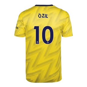 Adidas Youth Arsenal 'OZIL 10' Away Jersey '19-'20 (Equipment Yellow)