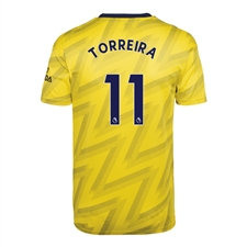 Adidas Youth Arsenal 'TORREIRA 11' Away Jersey '19-'20 (Equipment Yellow)