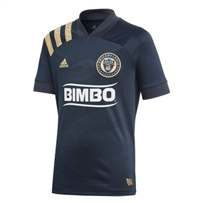 Adidas Youth Philadelphia Union Primary Jersey 2020 (Night Navy/Light Football Gold)