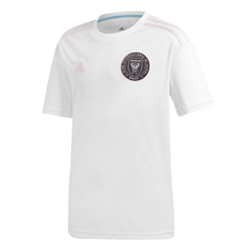 Adidas Youth Inter Miami CF Primary Jersey 2020 (White/Clear Pink)