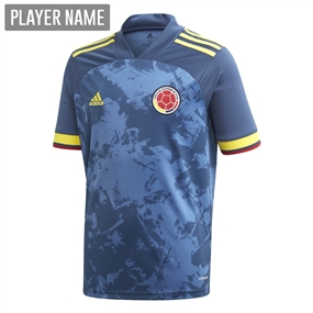 Adidas Youth Colombia Away Jersey 2020 (Night Marine)