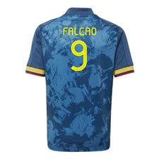 Adidas Youth Colombia 'FALCAO 9' Away Jersey 2020 (Night Marine)
