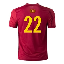 Adidas Youth Spain 'ISCO 22' Home Jersey 2020 (Victory Red)