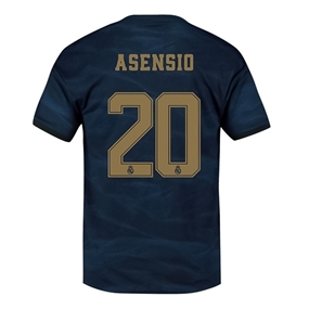 Adidas Youth Real Madrid 'ASENSIO 20' Away Jersey '19-'20 (Night Indigo)