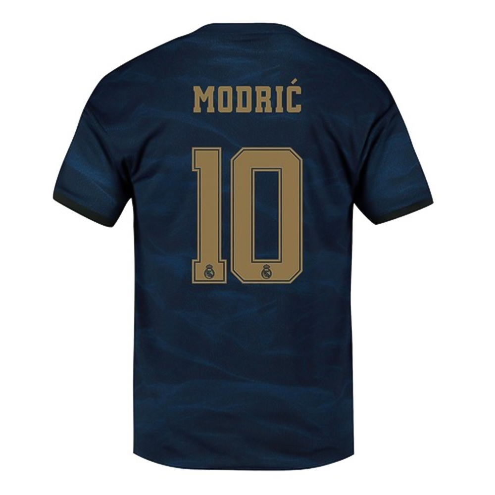 low cost 7d04e 60131 Adidas Youth Real Madrid 'MODRIC 10' Away Jersey '19-'20 (Night Indigo)
