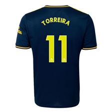 Adidas Youth Arsenal 'TORREIRA 11' Third Jersey '19-'20 (Collegiate Navy)