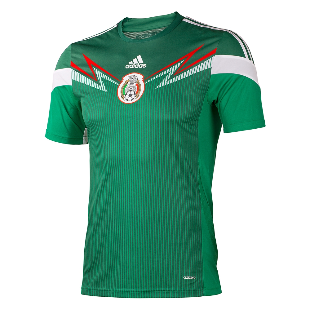 d1de22f7076 SALE $34.95 - Adidas Mexico Home Youth '13-'14 Replica Soccer Jersey ...