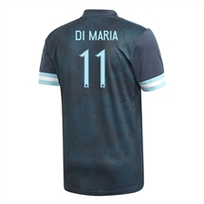 Adidas Youth Argentina 'DI MARIA 11' Away Jersey 2020 (Midnight)