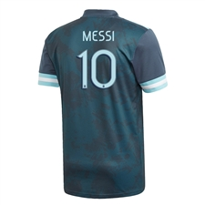Adidas Youth Argentina 'MESSI 10' Away Jersey 2020 (Midnight)