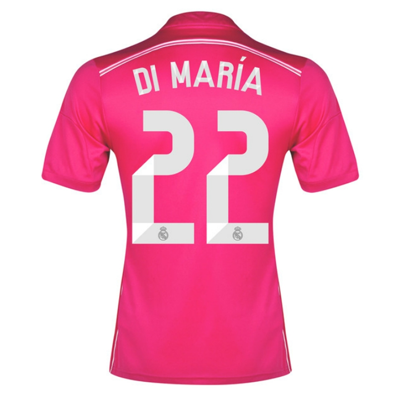 Adidas Real Madrid  DI MARIA 22  Away Youth  14- 15 Replica Soccer ... f40d80021