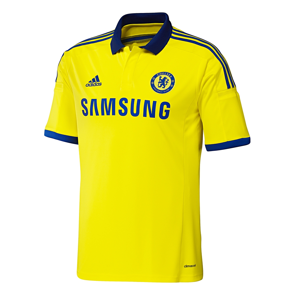 sale retailer 62576 194ac Adidas Chelsea Away Youth '14-'15 Replica Soccer Jersey