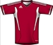 Adidas Youth Campeon 11 Soccer Jersey (University Red/White)