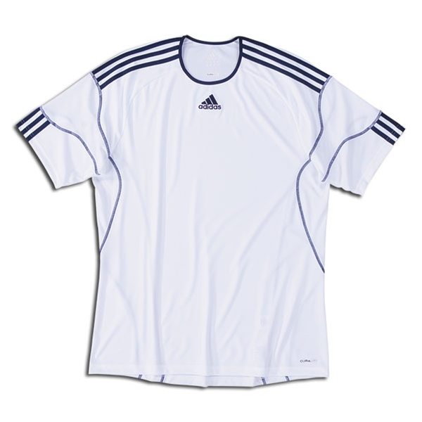 watch 65f11 5f4b3 Adidas Youth Regista Soccer Jersey (White/New Navy)