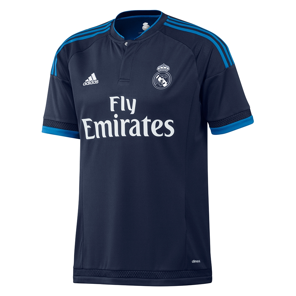 abfc8d24d Real Madrid Third Youth  15- 16 Soccer Jersey (Night Indigo Bright ...