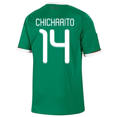 a5775a860 Chicharito Mexico Home Jersey