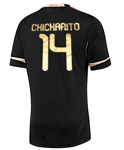 a31092eb144 Chicharito Mexico 2011-2012 Away Youth Jersey