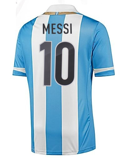 another chance 9181d 7cbc8 Adidas Youth 'MESSI 10' Argentina Home 2011 Replica Soccer Jersey (Columbia  Blue/White)