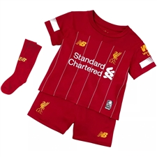 New Balance Liverpool Home Mini Kit '19-'20 (Red Pepper/White)